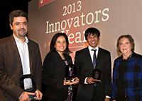 "Kinshuk Mitra - ""Hesham El Gamal, M. Monica Giusti, and Kinshuk Mitra named 2013 Innovators of the Year"" - November 6, 2013"